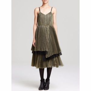 NWT witchy Marc by Marc Jacobs tulle midi dress